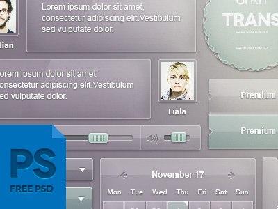 Интерфейс для сайта