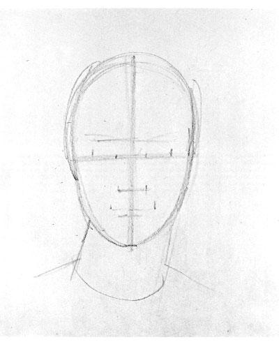 Рисуем женский портрет