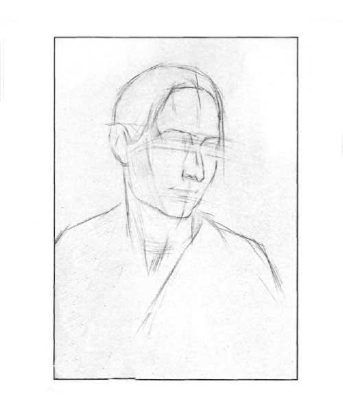Рисуем портрет девушки