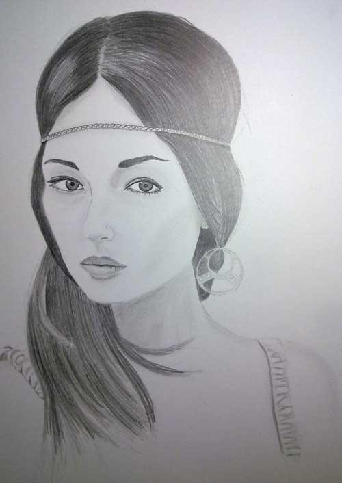 Как нарисовать женщину карандашом поэтапно?