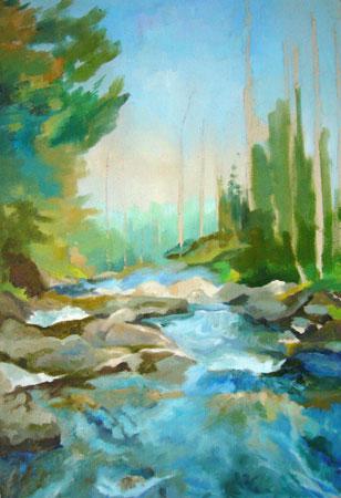 урок рисования маслом - Североуральск (шаг 5)