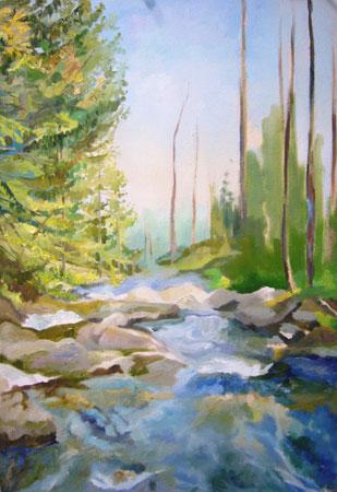 урок рисования маслом - Североуральск (шаг 7)