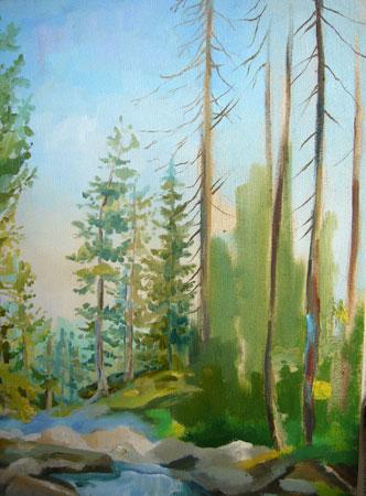 урок рисования маслом - Североуральск (шаг 9)