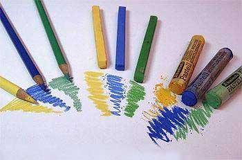 Начальные сведения рисования пастелью